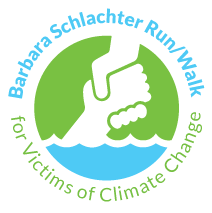 Barbara Schlachter Run/Walk for Victims of Climate Change